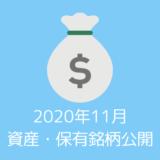 【資産・保有銘柄公開】20代夫婦の2020年11月時点の資産すべてを公開