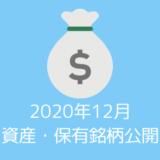 【資産・保有銘柄公開】20代夫婦の2020年12月時点の資産すべてを公開