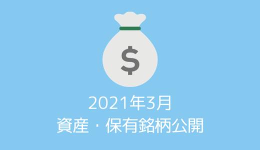 【資産・保有銘柄公開】20代夫婦の2021年3月時点の資産すべてを公開