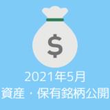 【資産・保有銘柄公開】20代夫婦の2021年5月時点の資産すべてを公開