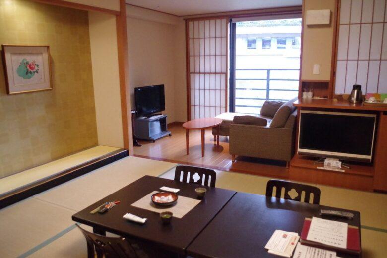 ホテル南風荘のお部屋
