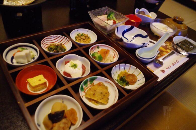 ホテル南風荘の朝食